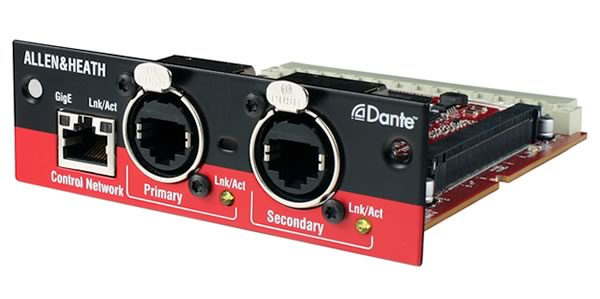 ALLEN & HEATH アレン&ヒース M-DANTE Audio Interface Card  販売 価格
