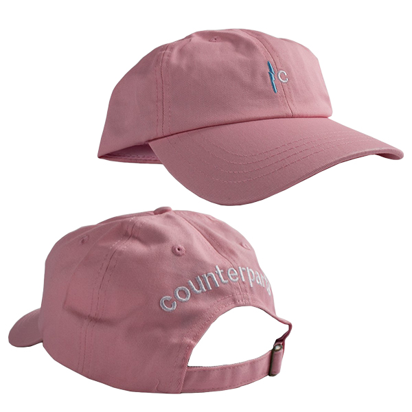 Counterparts - Knife (Pink) (Embroidered) (Dad Hat)  入荷予約商品 ... f028b8b6bb2d