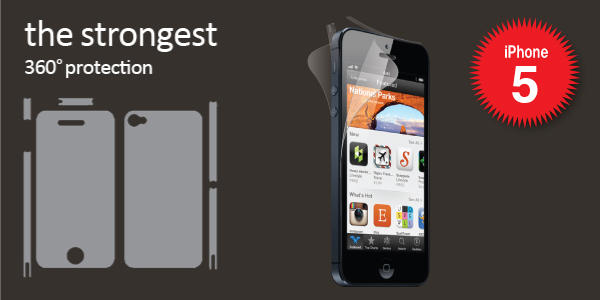 the strongest 360°protection iPhone5