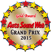 『 Auto Sound Web GRAND PARIX 2015 』 受賞