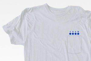 Pocket New Logo Tee WH <img class='new_mark_img2' src='https://img.shop-pro.jp/img/new/icons57.gif' style='border:none;display:inline;margin:0px;padding:0px;width:auto;' />