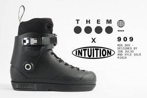 THEM 909 BK x INTUITION【前予約】