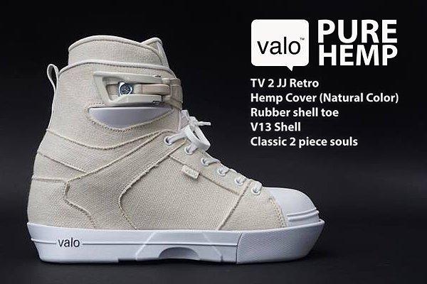Black Hemp Inlineskating-Artikel Valo TV 2 JJ Retro Complete Aggressive Skate