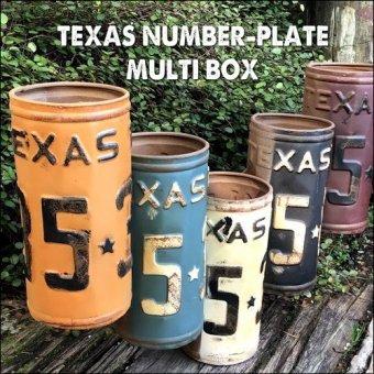 _アメリカンジャンクな小物入れ。テキサスナンバープレートマルチボックス