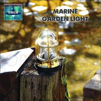 .真鍮製マリンガーデンライト(防雨)BH1000ゴールドポーチライト