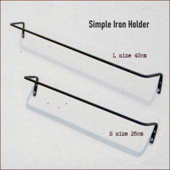 _アイアン製シンプルタオルホルダー※S/Lサイズ
