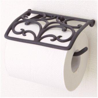 _真鍮製トイレットペーパーホルダー(ブラッククローバー)