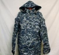 アメリカ海軍 NWUゴアテックス パーカーGORE-TEX S/XL美品