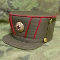 北朝鮮軍 将校用 ドレスキャップ 軍帽 未使用