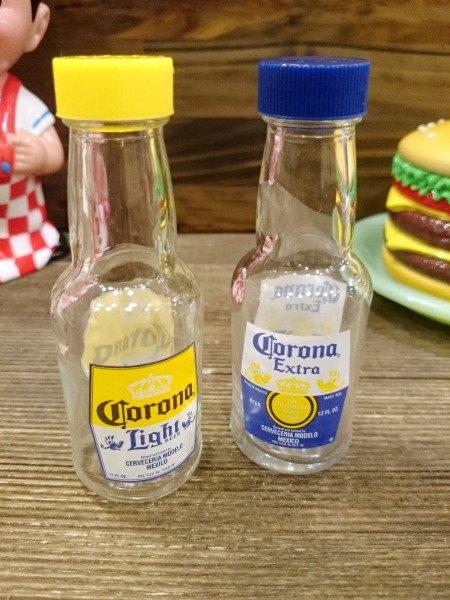 Corona Extra コロナビール ボトル型 塩コショウ入れ S&P