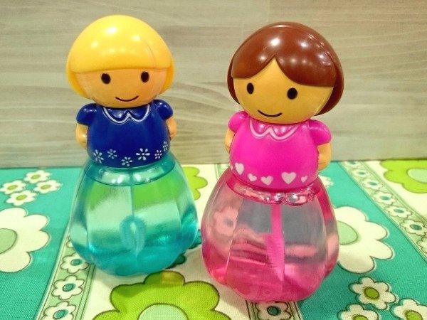 ガーリーバブル お人形型 シャボン玉 おもちゃ 2体セット Aセット