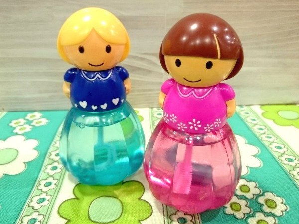 ガーリーバブル お人形型 シャボン玉 おもちゃ 2体セット Bセット