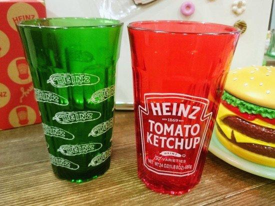 Heinz ハインツ ロゴ グラス 2色セット