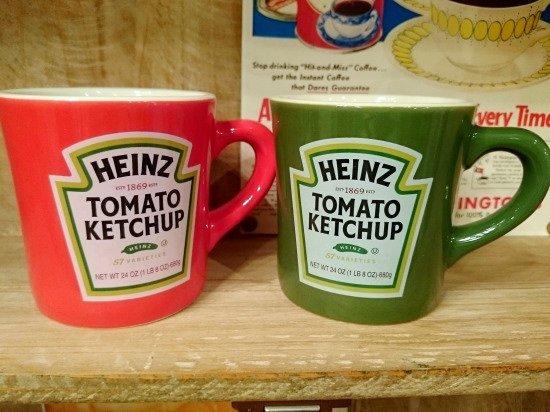 Heinz ハインツ ロゴ マグカップ 2色セット