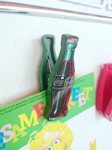 Coca-Cola コカコーラ マグネットクリップ ボトルA