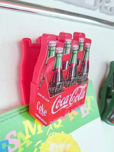 Coca-Cola コカコーラ マグネットクリップ ボトルズB