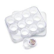 (12P入り) [ラウンド サークルパーツ収納ケース ] (返品交換不可)