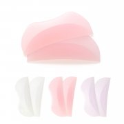 [183]選べる柔らか薄型まつげカール用ロッド(ワンペア) ピンク