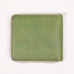 ラウンドファスナー ミニ 二つ折り財布