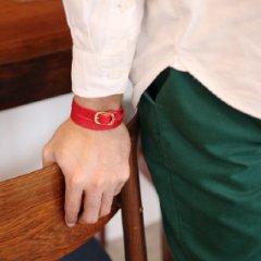 イタリア革 二重巻きレザーブレスレット