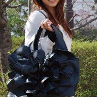 ショルダーバッグ 本革【BARA Large】black