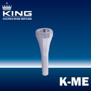 キング : マーチング メロフォンマウスピース K-ME