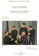 ドボルザーク : 木管五重奏曲 ヘ長調  〜弦楽四重奏曲「アメリカ」Op.96