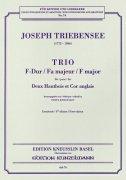 トリーベンジー : 三重奏曲 ヘ長調