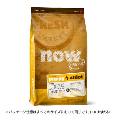 NOW FRESH/Grain Free パピー