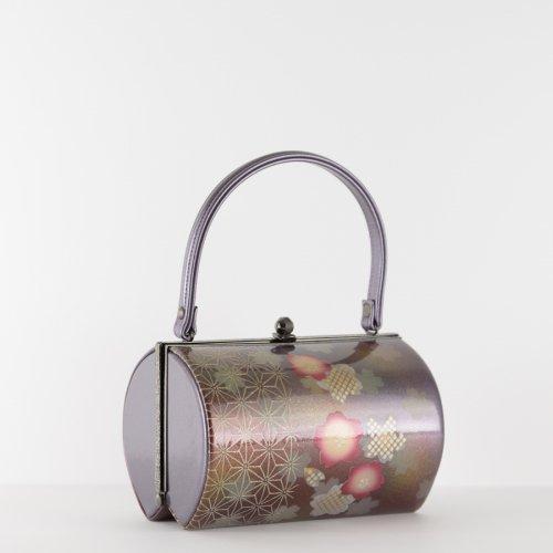 和装バッグ 桜と麻の葉のサムネイル画像