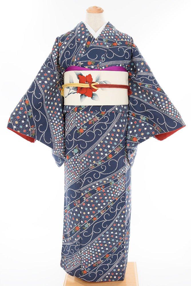 「ドット麻の葉と桜」の商品画像