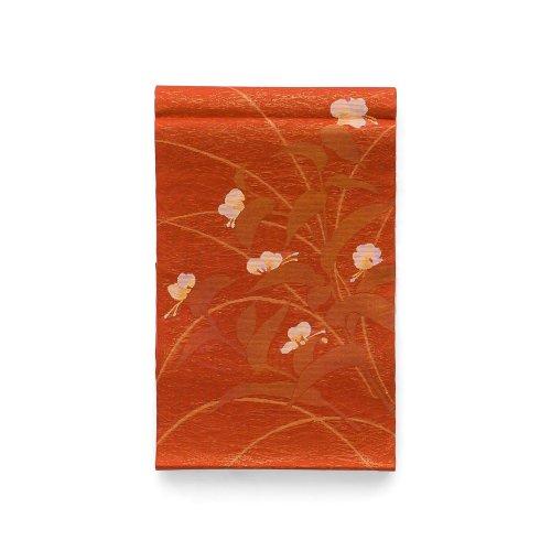夏袋帯●つゆくさの花のサムネイル画像