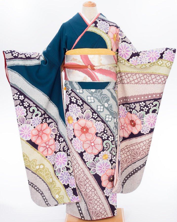 「振袖 大きなお花のライン」の商品画像