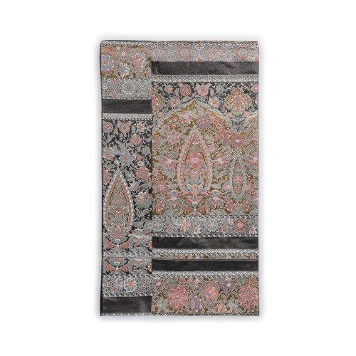 袋帯●ペイズリー調 更紗祈祷草花文様のサムネイル画像