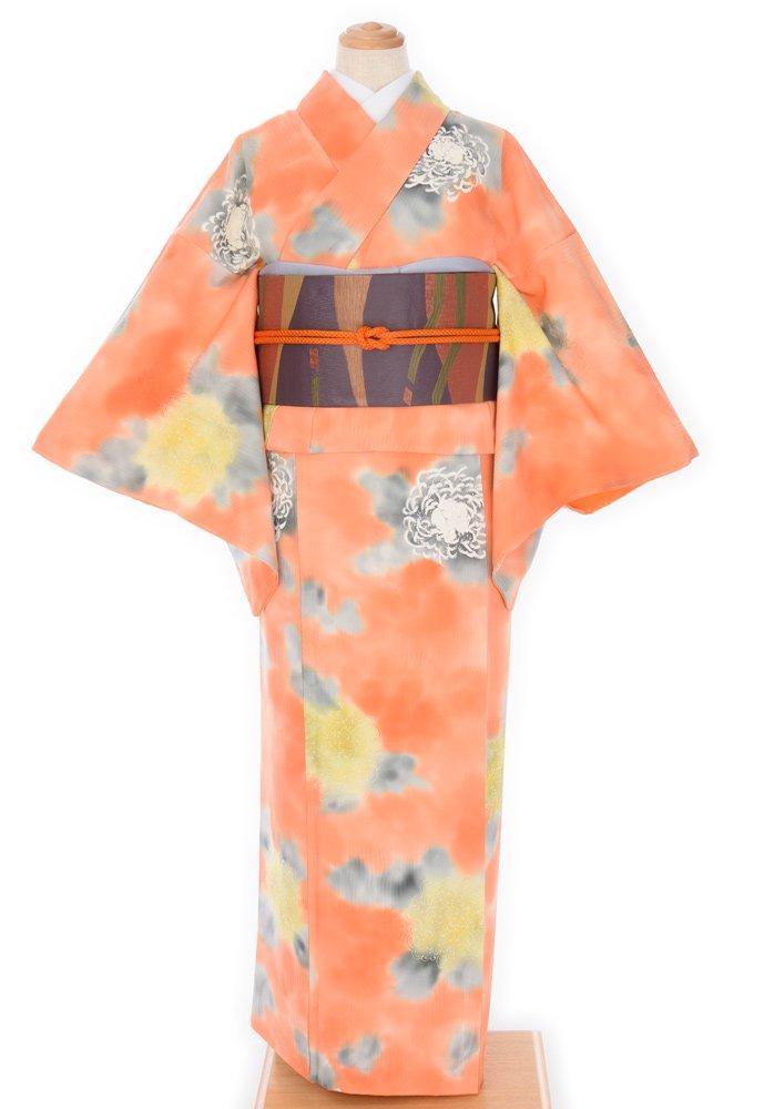 「暈しオレンジ 菊の花」の商品画像