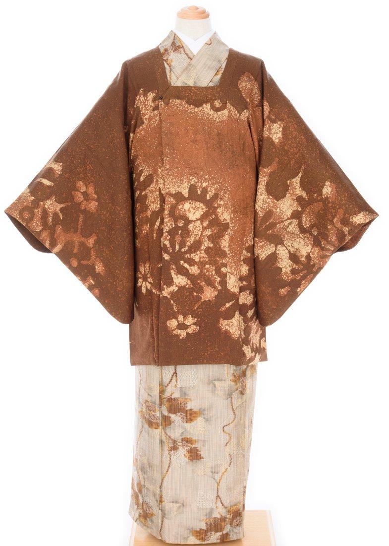 「道行コート お花シルエット」の商品画像