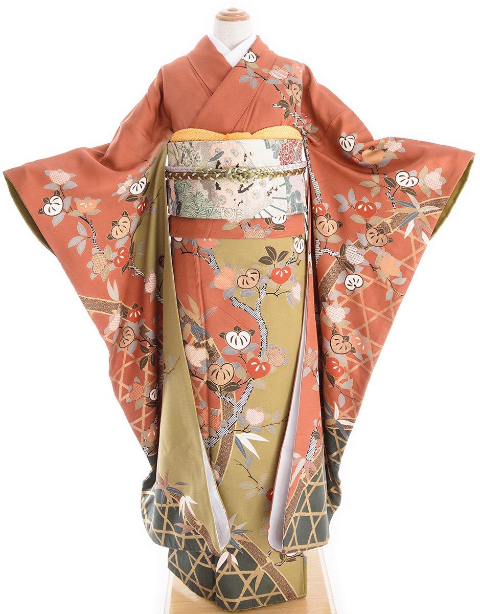 「振袖 籠目に橘」の商品画像