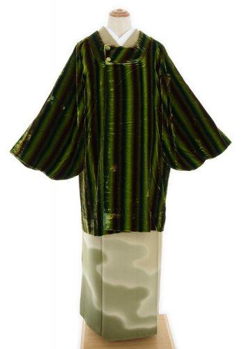 ベロアコート グリーンの縞のサムネイル画像