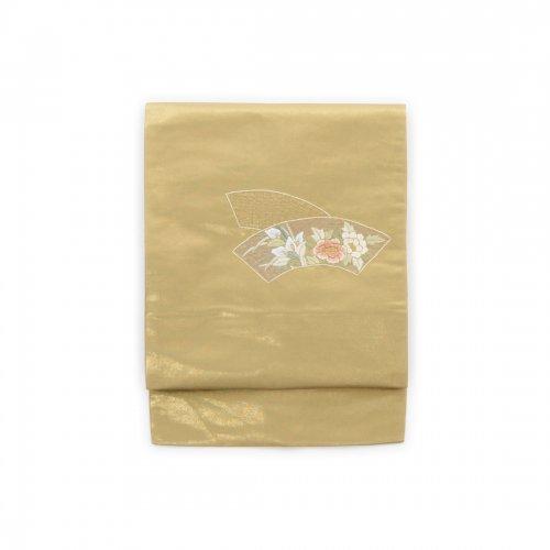 扇面に花刺繍のサムネイル画像