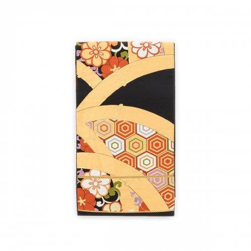 袋帯●カラフル亀甲に八重桜のサムネイル画像
