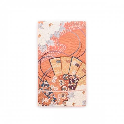 袋帯●檜扇と牡丹の花のサムネイル画像