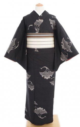 銀杏葉の鶴