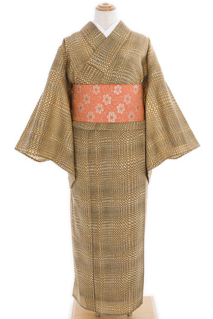 「単ウール●昭和レトロ 花とドット」の商品画像