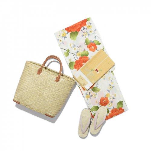 浴衣 セオα 菊と椿のサムネイル画像