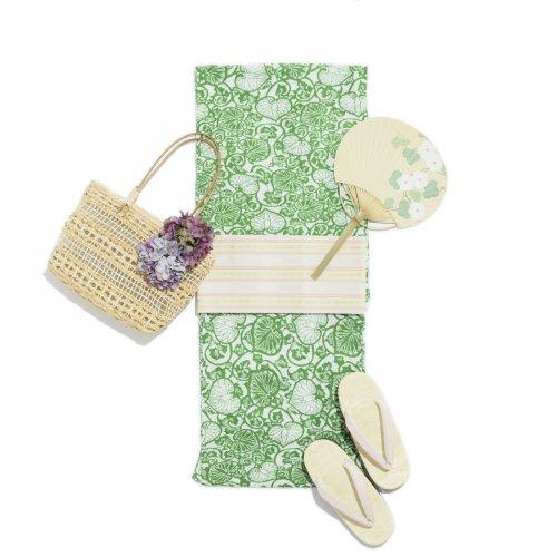 2017新作浴衣 葵の葉のサムネイル画像