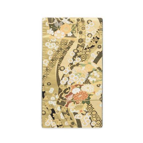 袋帯●檜扇に花のサムネイル画像
