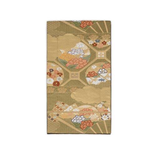 袋帯●扇と花の丸のサムネイル画像