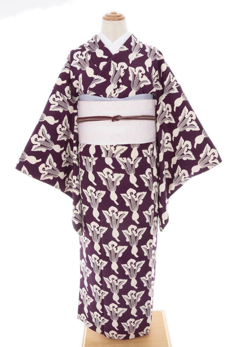 「紫色地 並んだ蕪」の商品画像