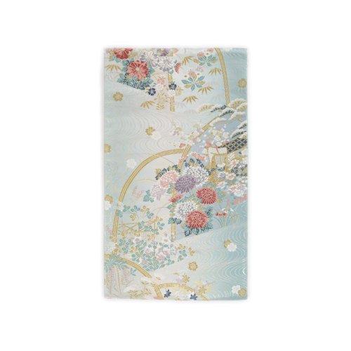 袋帯●水色暈し 御所車と花のサムネイル画像