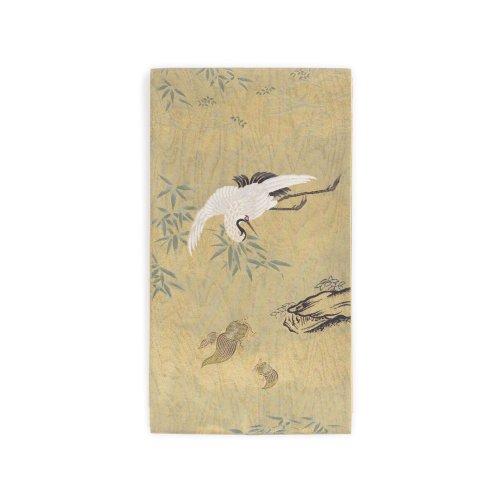 袋帯●お太鼓柄 鶴と亀のサムネイル画像